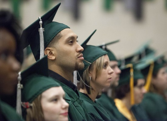 412 receive degrees at commencement
