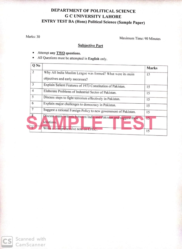 1-SAMPLE TEST
