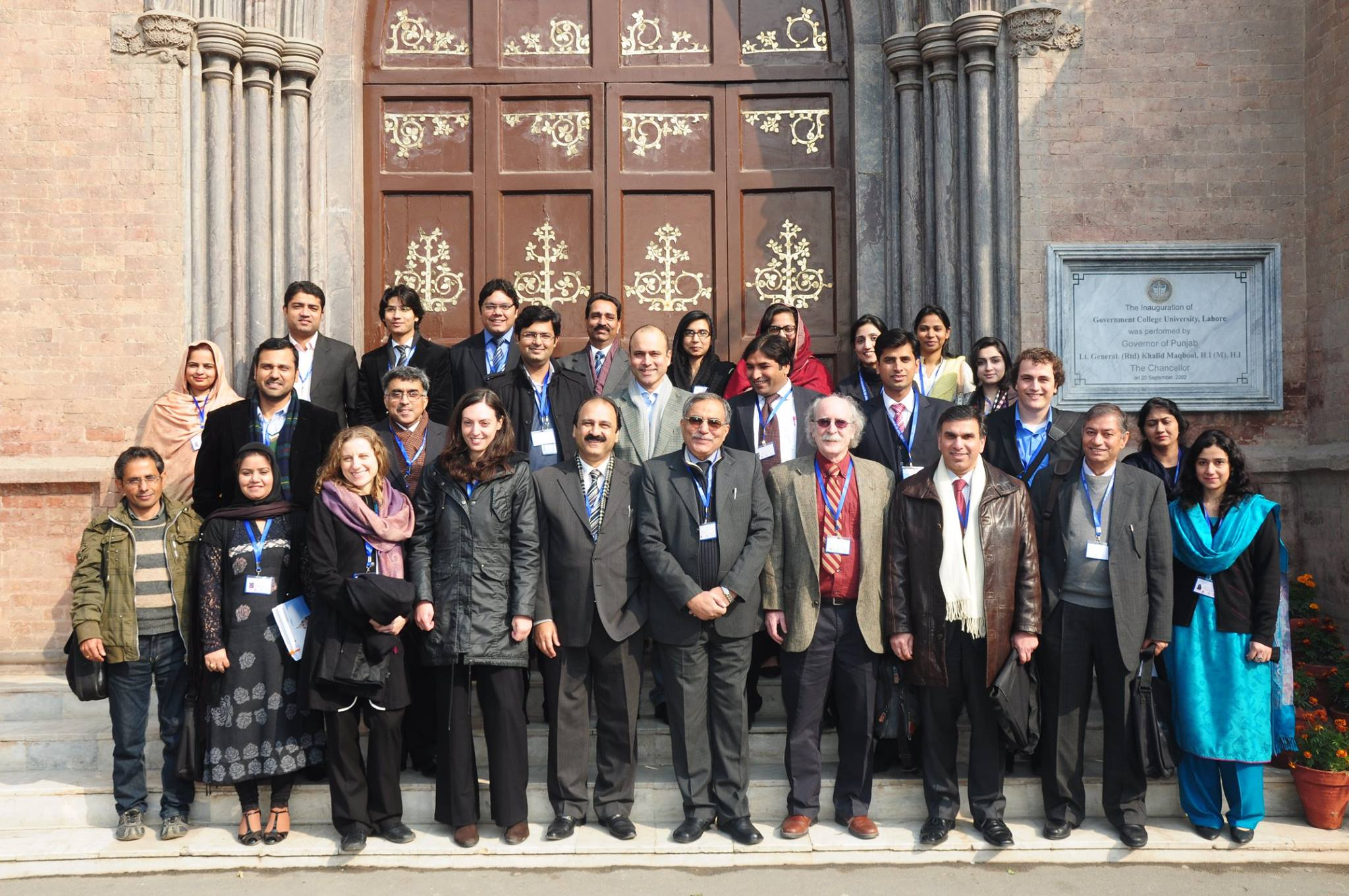 Group Photo of Conference Participants with the Vice Chancellor