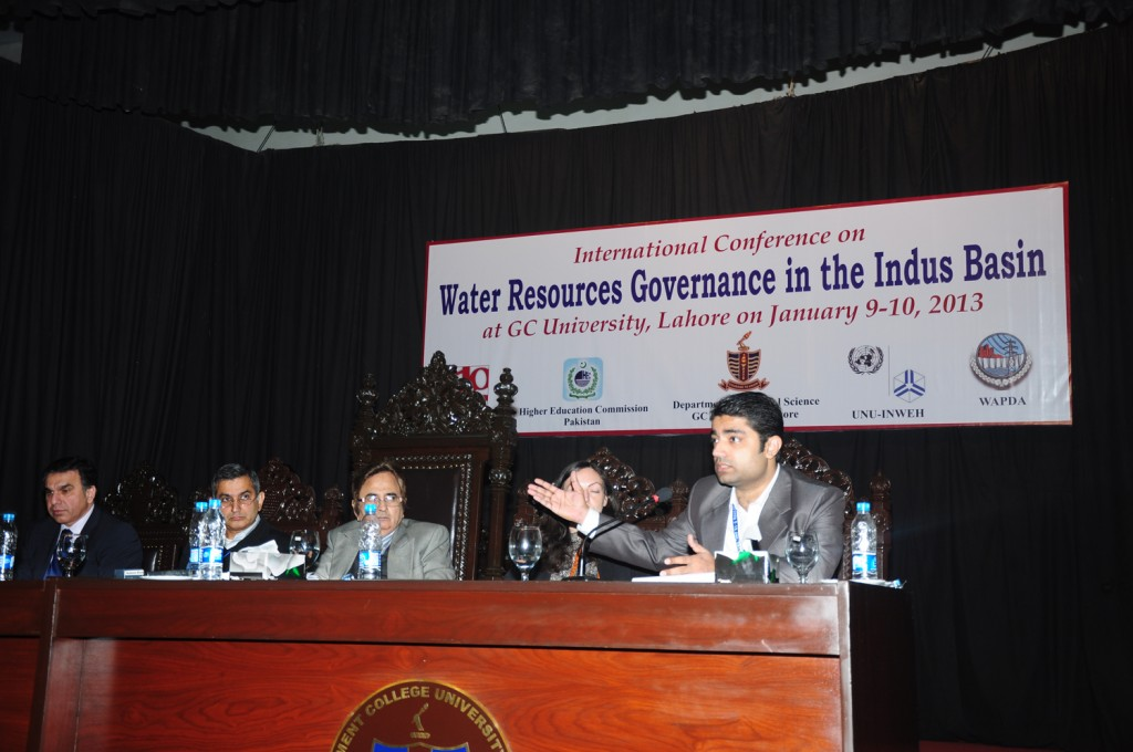 Session III: The Impact of Increased Demands for Water on Development in the Indus Basin