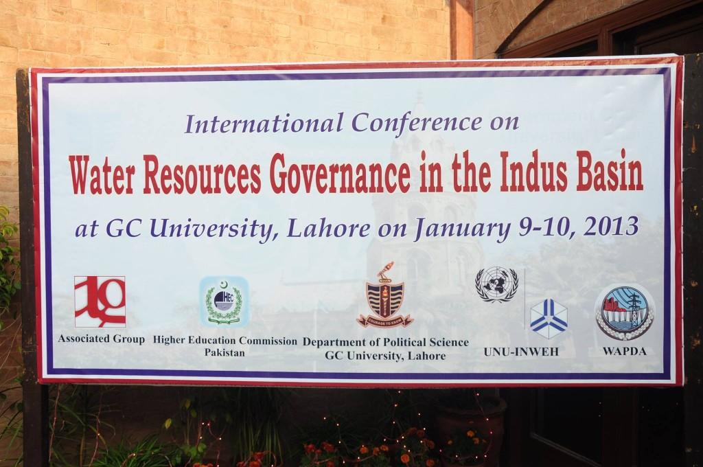 Conference Venue: Bukhari Auditorium, GC University, Lahore