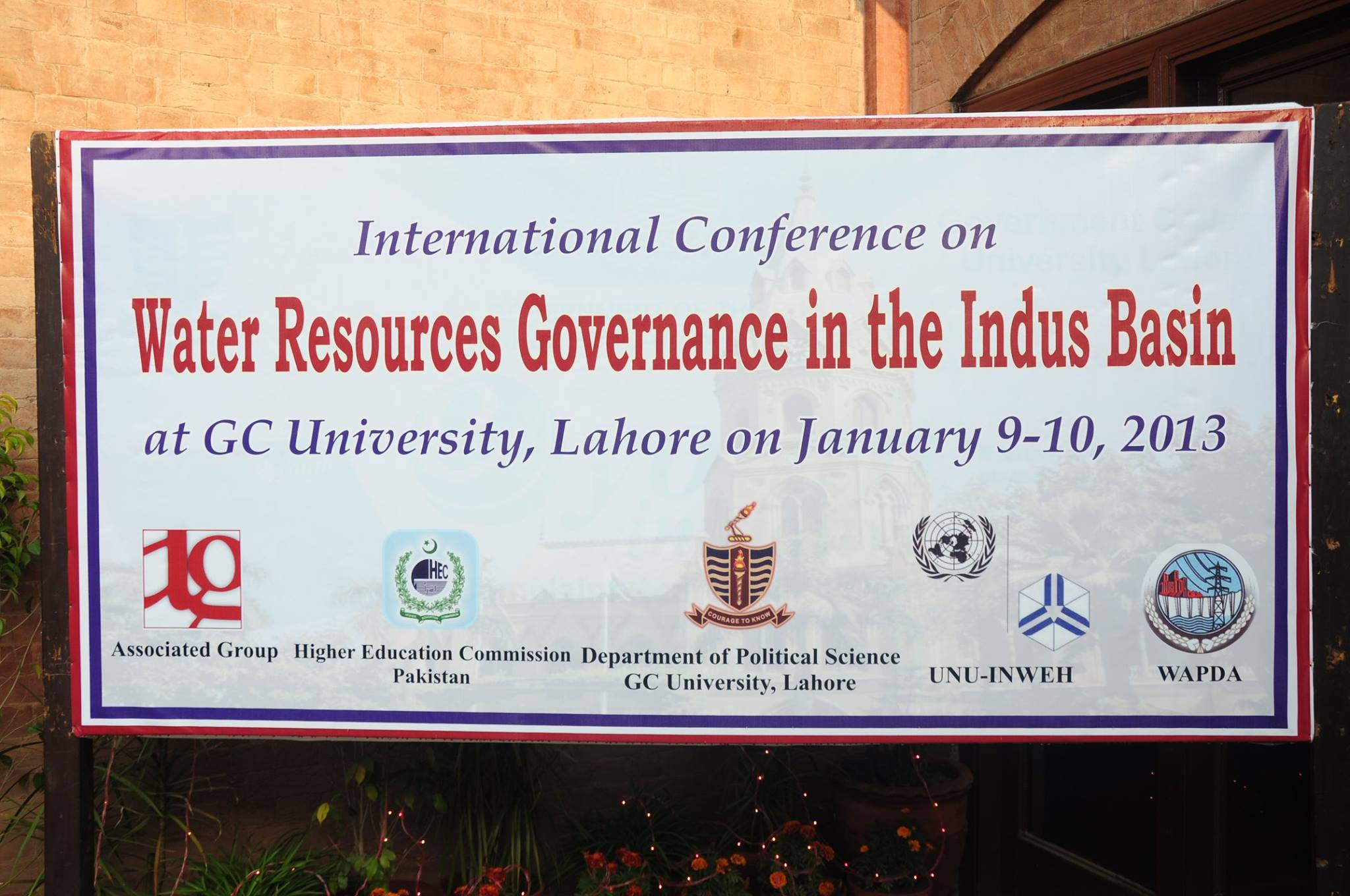 Conference Venue: Bukhari Auditorium, GC University, Lahore