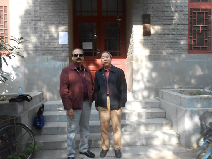 Dr. Butt in Pakistan Studies Centre in China