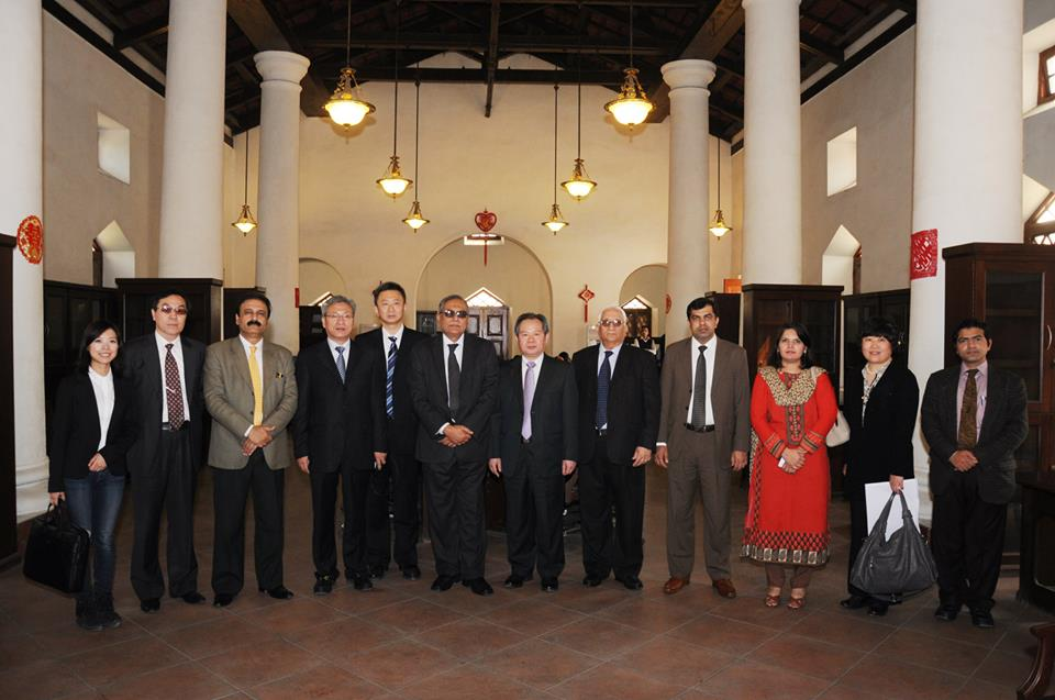 Inauguration of Centre of Excellence China Studies