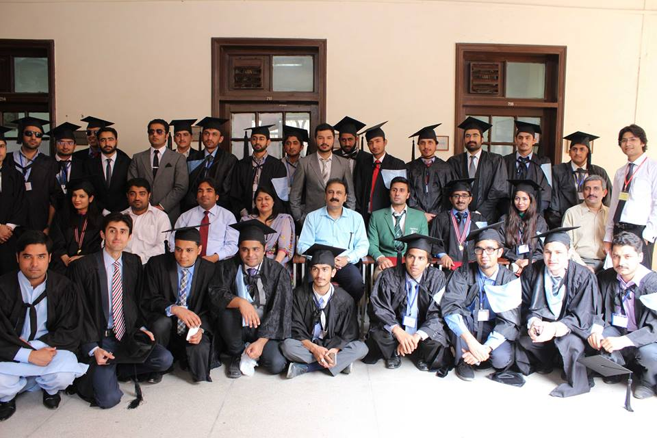 Group Photo with Students of BA Hons Session 2010-14