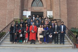 Group Photo with students of MPhil Session 2013- 15