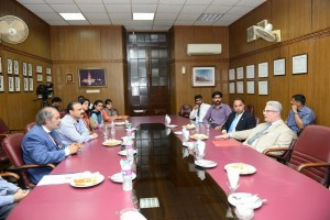 Refreshments at Vice Chancellor's Committee Room