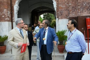 Guests visiting Iqbal Hostel
