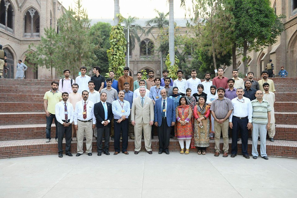 Group Photo with Faculty and Society Office Bearers