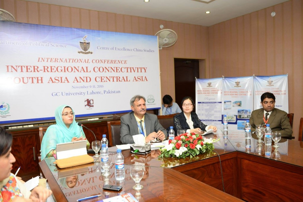 Dr. Saira Ahmed (Italy), Dr. Sarfraz Khan (Session Chair), Ms. Zhou Yuan (Beijing, China), Mr. Muhammad Usman Amin Siddiqi
