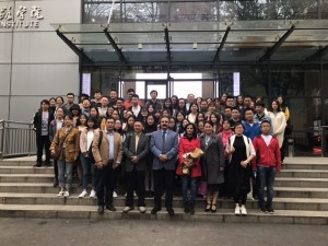 Group Photo with faculty and students of CUG, Wuhan